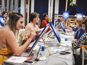 paint and sip events